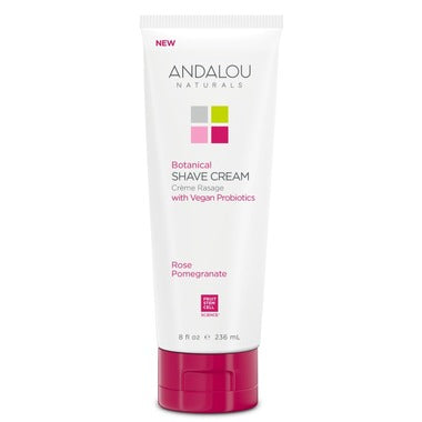 ANDALOU naturals Rose Pomegranate Shave Cream