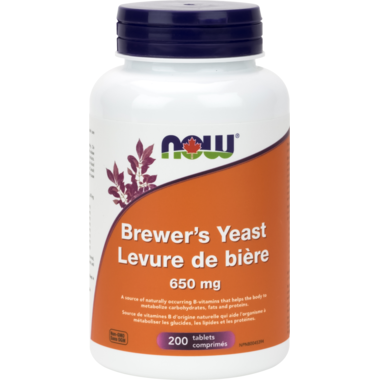 NOW Foods Brewer's Yeast 650 mg