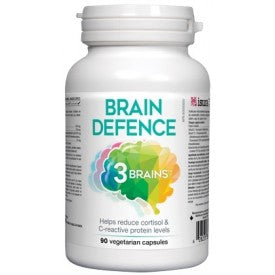 3 Brains Brain Defence 90 Veggie Caps