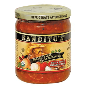Bandito's Organic Salsa Hot & Spicy