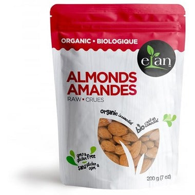 Elan Raw Organic Almonds