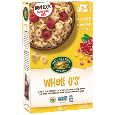 Nature's Path Organic Whole O's Cereal 325g