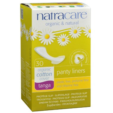 Natracare Natural Panty Liners Tanga 30 pcs