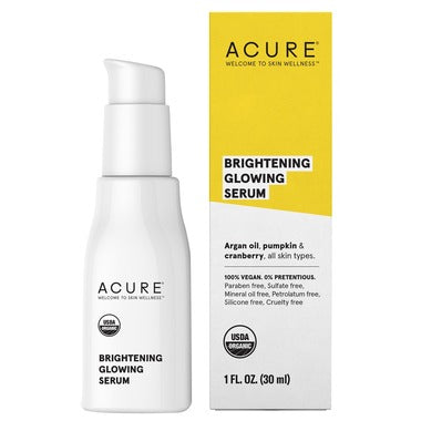 Acure Brightening Glowing Serum  30 mL