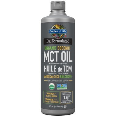 Garden of Life Dr. Formulated Organic MCT Oil