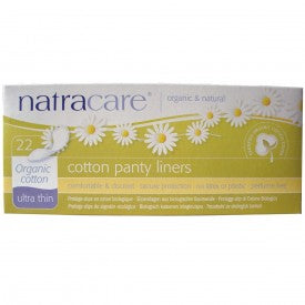 NatraCare Organic & Natural Panty Liners Ultra Thin 22 Liners