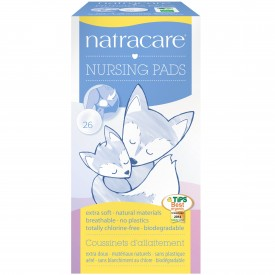 Natra Care Organic & Natural Nursing Pads 26 Pack