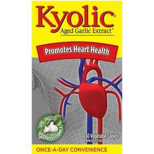Kyolic Once A Day Aged Garlic Extract 600 mg   30 caplets