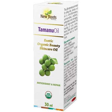 New Roots Herbal Organic (100% Natural) Tamanu Oil