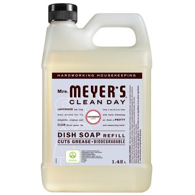 Mrs. Meyer's Clean Day Dish Soap Refill Lavender 1.4L