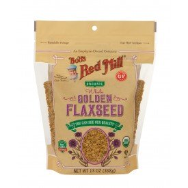 Bob's Red Mill Flaxseed Golden Organic 368g  Whole