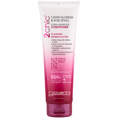 Giovanni 2chic Ultra-Luxurious Conditioner, Cherry blossom & Rose petals