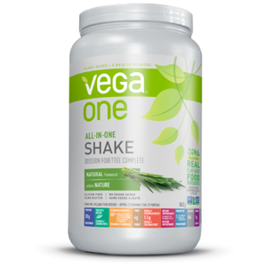 Vega One All-In-One Unsweetened Natural Nutritional Shake