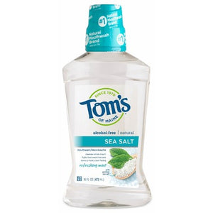 Tom's Of Maine Refreshing Mint Sea Salt Mouthwash