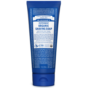 Dr. Bronner's Organic Shaving Soap Peppermint