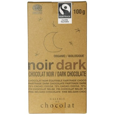 Galerie au Chocolat Dark Chocolate Bar 100g