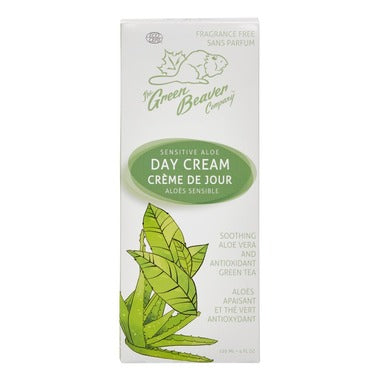 Green Beaver Sensitive Aloe Day Cream