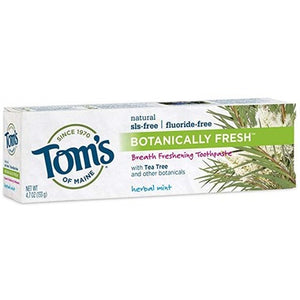Tom's Of Maine Botanically Botanically Fresh Toothpaste Herbal mint 100 mL