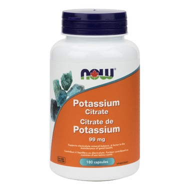 NOW Foods Potassium Citrate 99mg