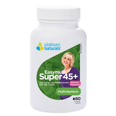 Platinum Naturals Multivitamin Super EasyMulti 45+ for Women