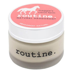 Routine De-Odor-Cream Natural Deodorant in Maggie's Citrus Farm Scent  58g