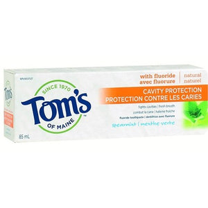 Tom's of Maine Cavity Protection Fluoride Toothpaste spearmint 85 mL