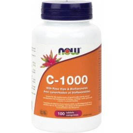 NOW Vitamin C-1000 100 Tablets