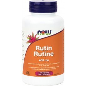 NOW Rutin 450mg 100 Veggie Capsules