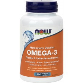 NOW Omega-3 1000mg 100 Softgels