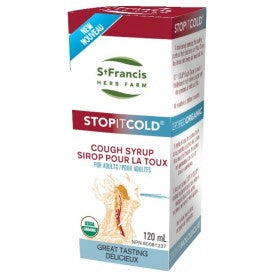 St. Francis Stop It Cold® Cough Syrup Adult 120mL