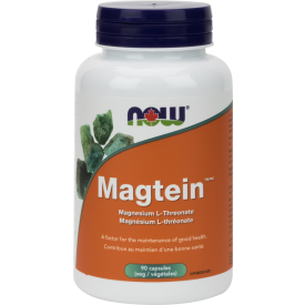 NOW Magtein™ Magnesium L-Threonate 90 Veggie Caps