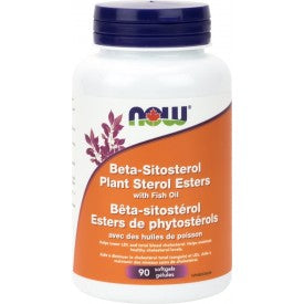 NOW Beta Sistosterol With Fish Oil 90 Softgels