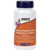 NOW Natural Resveratrol 50mg 60 Veggie Caps