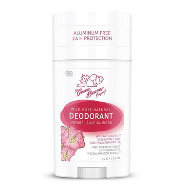 Green Beaver Natural Deodorant Wild Rose