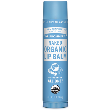 Dr. Bronner's Magic Organic Lip Balm Naked  4g