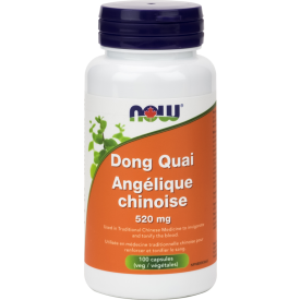 NOW Dong Quai 520mg 100 Veggie Caps