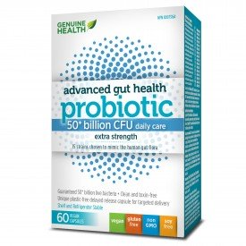 Genuine Health Probiotic Gut Health 50 Billion 60 Capsules