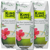 King Island 100% Pure Coconut Water 3-Pack (3 x 250 mL)