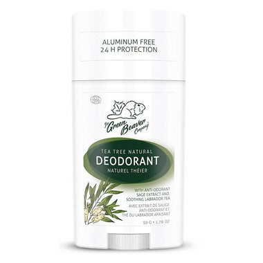Green Beaver Natural Deodorant Tea Tree