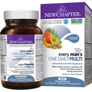 New Chapter Every Man's One Daily 55+ Whole Food Multivitamin
