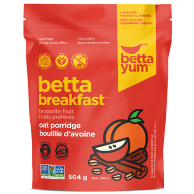 BettaYum Fruit Oat Porridge