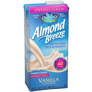 Blue Diamond Almond Breeze Vanilla Unsweetened