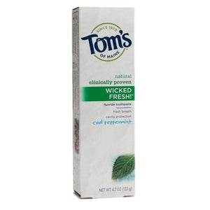 Tom's Of Maine Wicked Fresh Toothpaste Cool Peppermint 100 mL