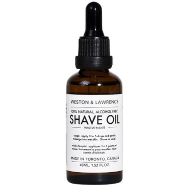 Weston & Lawrence Shave Oil
