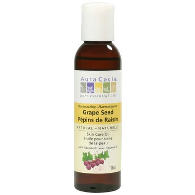 Aura Cacia Grapeseed Skin Care Oil   118 mL