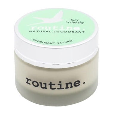 Routine De-Odor-Cream Natural Deodorant in Lucy in the Sky Scent 58g