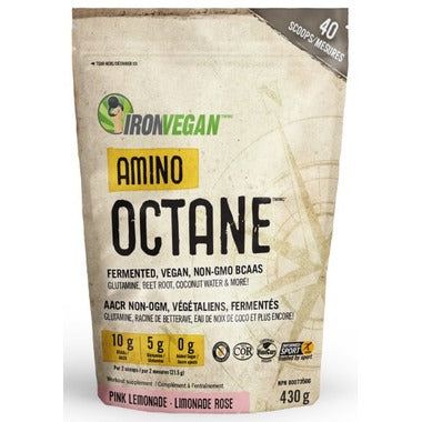 Iron Vegan Amino Octane Pink Lemonade
