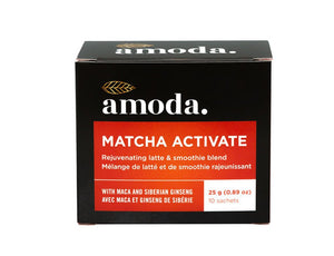 Amoda Matcha Activate Rejuvenating Latte & Smoothie Blend