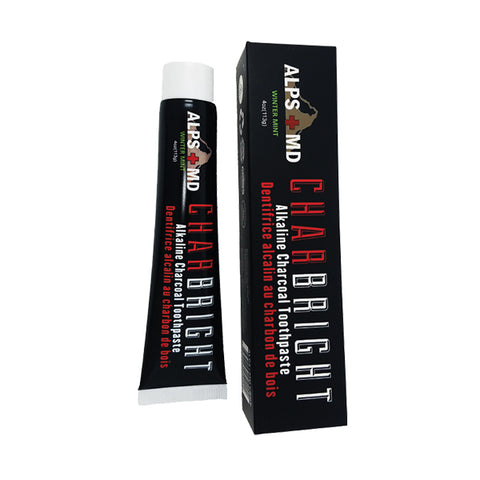 CHARBRIGHT- Alkaline Charcoal Toothpaste 113g