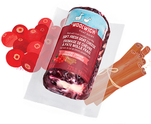 Woolwich Cranberry Cinnamon Goat Cheese Log